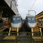 A pair of Acela