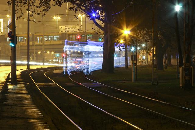 Christmas tram in Budapest 26