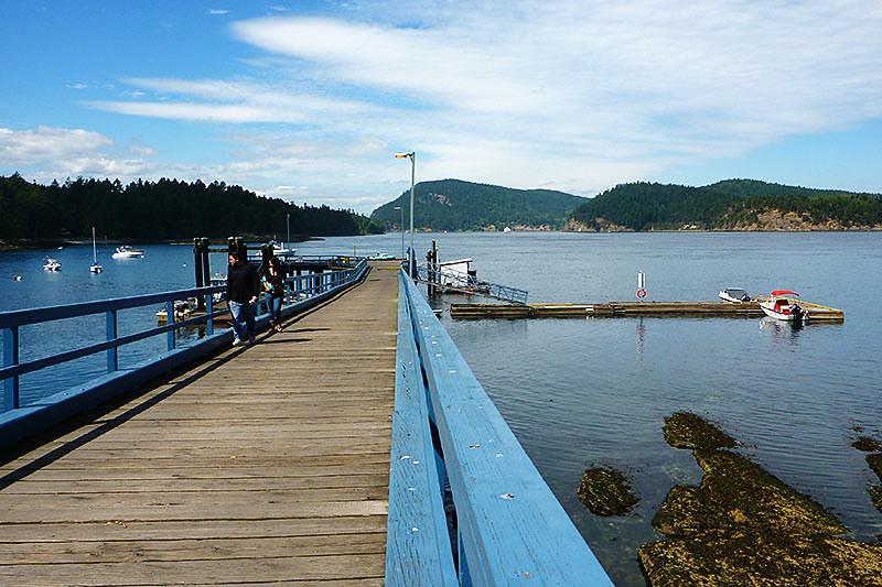 Miners Bay on Mayne Island, Southern Gulf Islands, British Columbia
