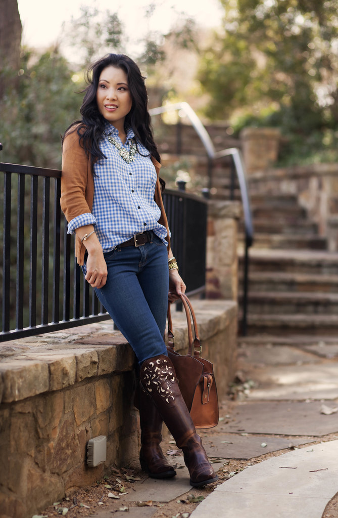 Cute Amp Little Blog Equestrian Chic Tan Cardigan Blue
