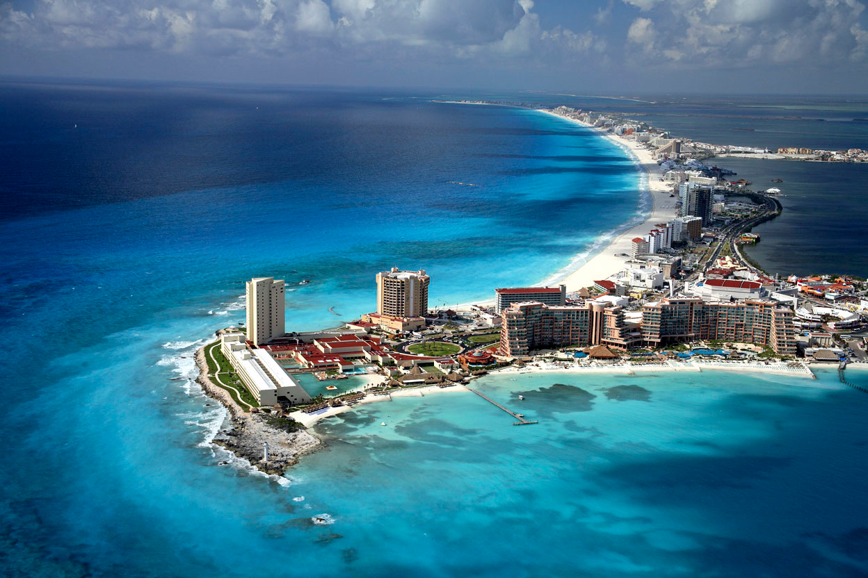 Cancún vs Playa del Carmen: Cancún y sus cristalinas playas