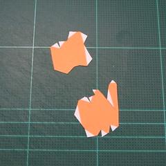 วิธีทำโมเดลกระดาษตุ้กตา คุกกี้รสราชินีสเก็ตลีลา จากเกมส์คุกกี้รัน (LINE Cookie Run Skating Queen Cookie Papercraft Model) 012