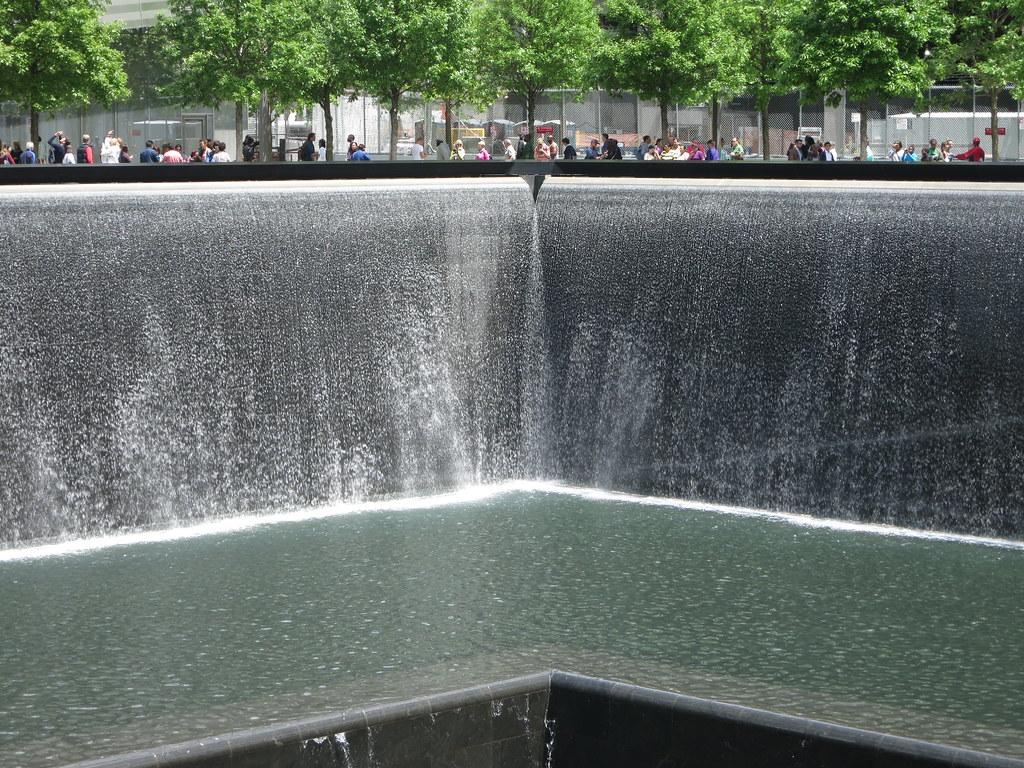 9/11 Memorial Museum Fountain