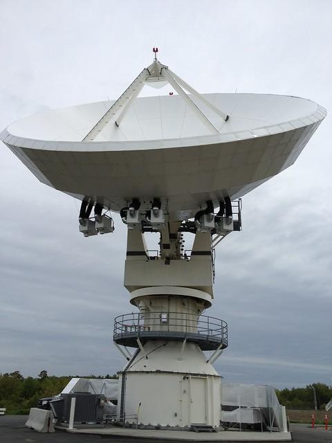 GOES-R Series Antenna Construction at Wallops