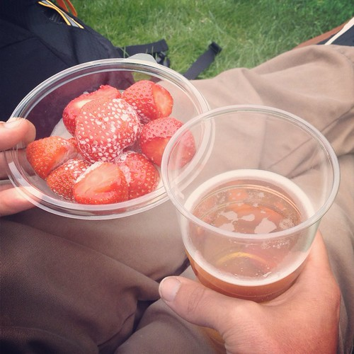 Strawberries and cream on Henman Hill | by Texarchivist