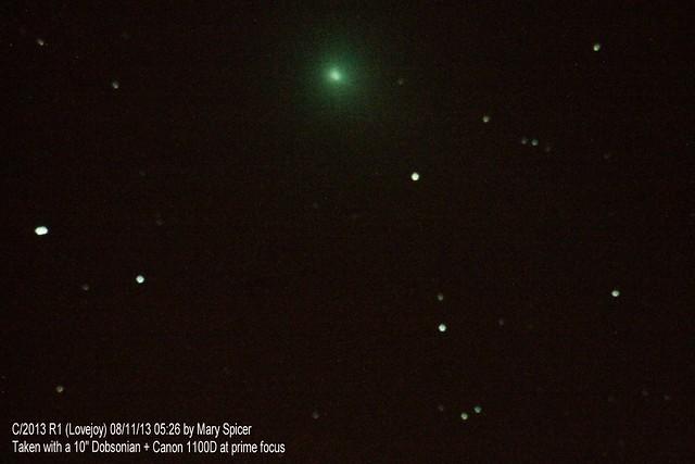 Comet C/2013 R1 (Lovejoy) 08/11/13