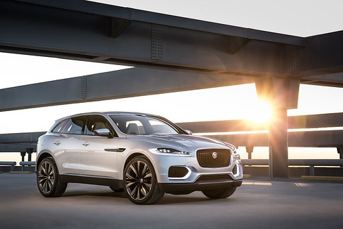 Jaguar C-X17 crossover concept in Dubai | Luxury car ...
