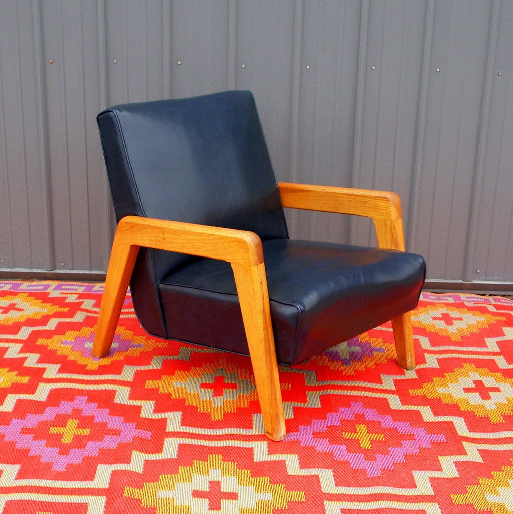 Vintage Danish Modern Lounge Chair Mid Century Modern Furn