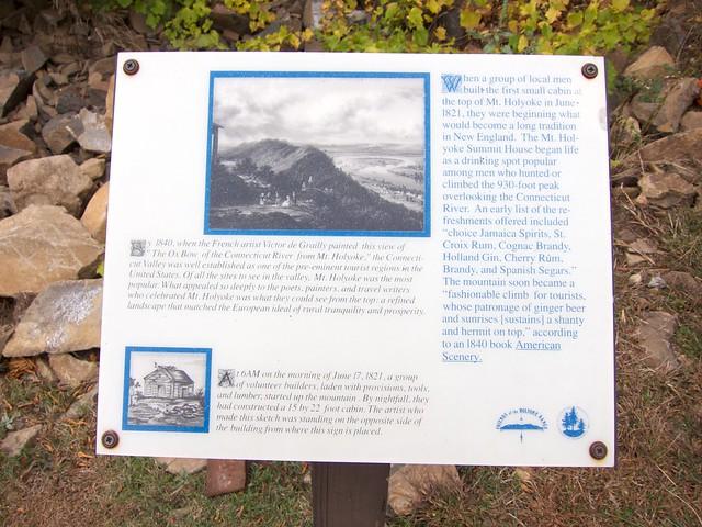 1:41:48 (70%): sign hiking massachusetts mtholyoke holyokerange metacometmonadnocktrail