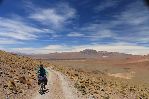 Above 5000m on Uturuncu | by Pikes On Bikes