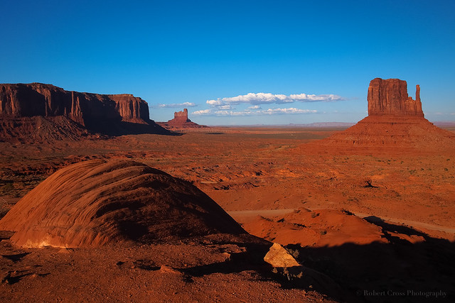 Monument Valley Late in the Day