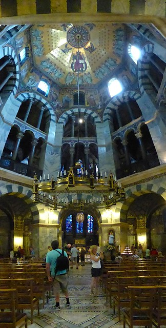 Carolingian Octagon in Aachen Cathedral