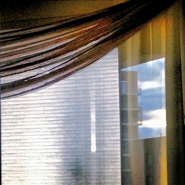 Early Reflection on the Curtains!