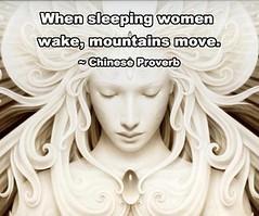 Sleeping Women Awake