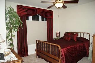 Turban Valance and Drapes and Bedding