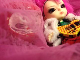 Chibi Pink Spider