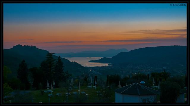 Costermano sunset