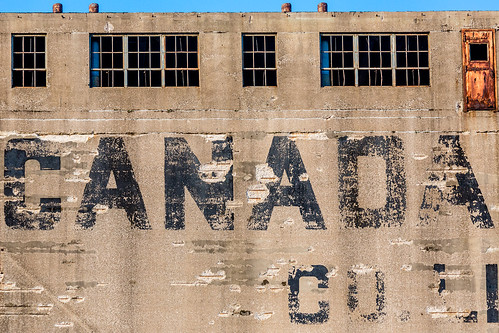 Detail of abandoned Canada Malting Silos - Toronto | by Phil Marion