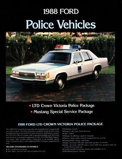 Ford Police Vehicles >> 1988 Ford Police Vehicles Alden Jewell Flickr