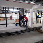Indoor Installation of Single Cable Cleats