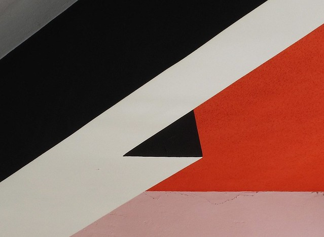 Bauhaus: Detail der Mensa-Decke / detail of refectory ceiling