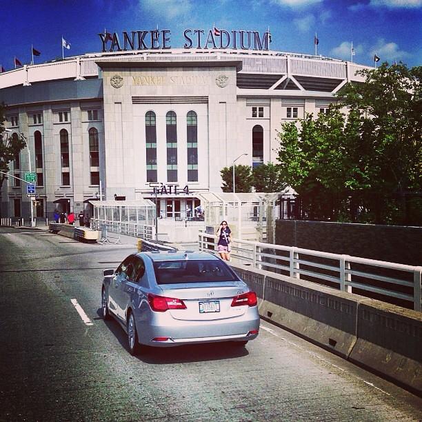 "Filming ""Legends"" With #MarianoRivera Near Yankee Stadium"
