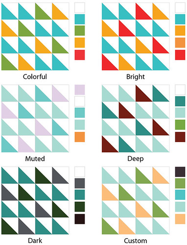 Selecting Quilt Colors on Sew, Mama,Sew | by CraftyPod