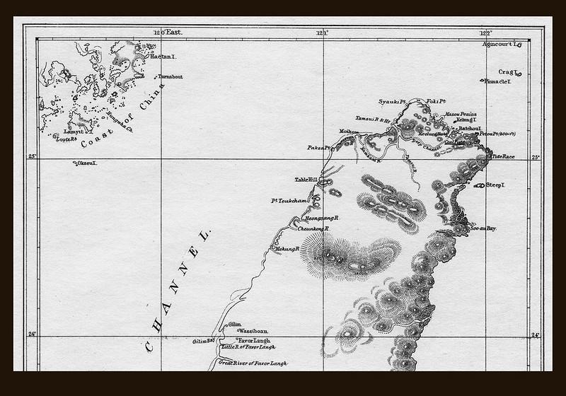 北台灣古地圖