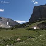 Cataract Mountain and Mt. Siyeh