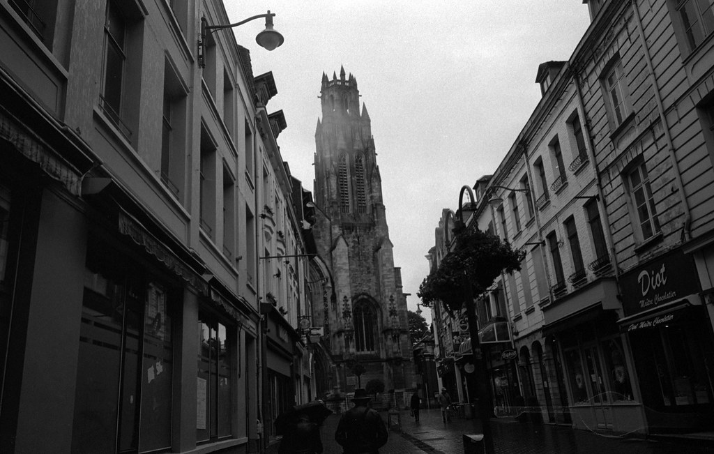 Rainy Day in Arras