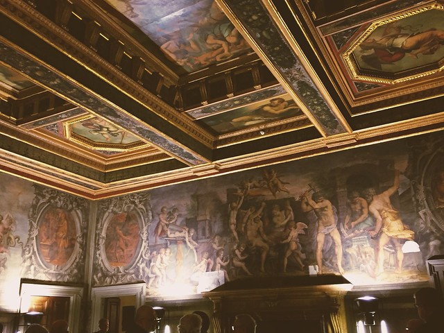 Palazzo Vecchio - la sala degli elementi