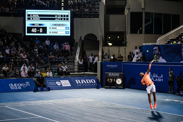 Rafael Nadal's Match Point against Milos Raonic