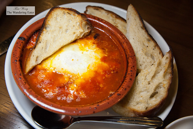 Baked Eggs Fra Diavolo
