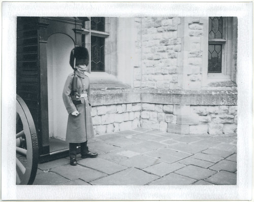"Image titled ""Guard, Tower of London."""