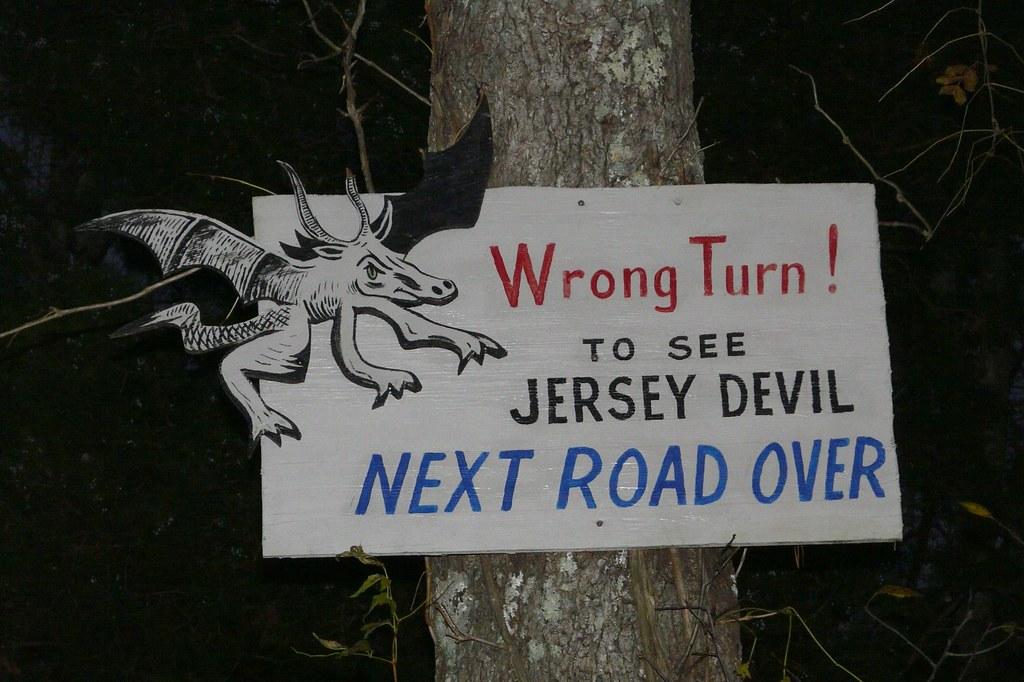 Jersey Devil sign