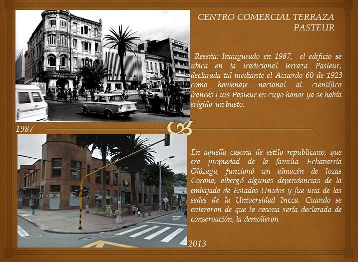Centro Comercial Terraza Pasteur Fototeca Bogota Flickr