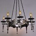 8 light - Spanish Revival Chandelier
