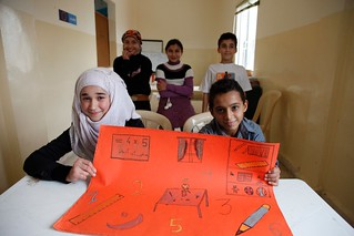 Working with Warchild and UNICEF to get Syria's children back to school in Lebanon | by DFID - UK Department for International Development