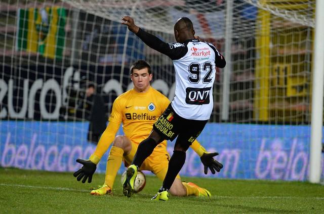 Charleroi - Club Brugge (15 december 2013)