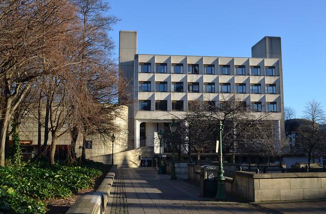 Edinburgh University: 7 Bristo Square - before