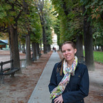 Emily in the Jardin du Lexembourg