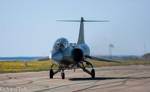 STARFIGHTER CF-104D BODØ AIRSHOW 16 JUNI 2012 | by toftos