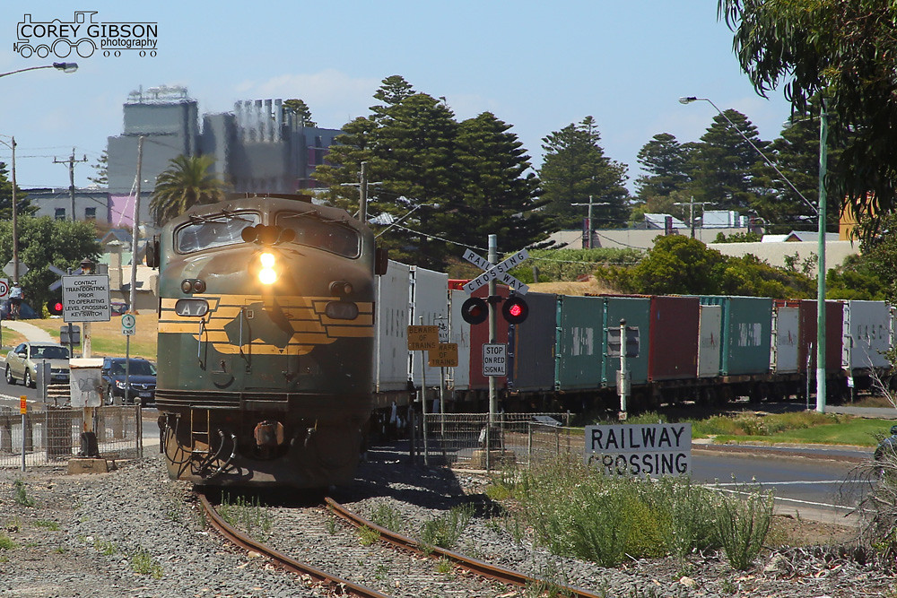Warrnambool Freight 9203 with A71 by Corey Gibson