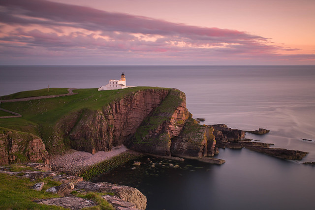 Stoer Lighthouse Sunset.