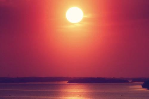 trip sunset sun water river poland polska polen polonia wisła vistula słońce plock rzeka польша płock 波兰 ポーランド 폴란드 pentaxk5