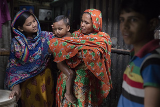 Rozina comforts her nephew | by World Bank Photo Collection