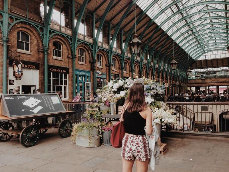 Nguyen; Dana; London, UK - Scavenger Hunt, Covent Garden