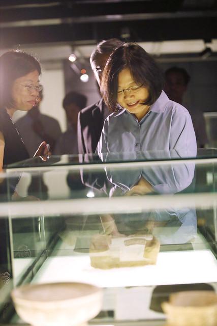10.28 總統參訪中央研究院民族學研究所博物館及歷史文物陳列館