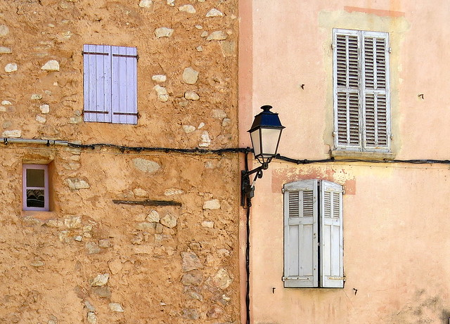Four (maybe five or six):  Pontevès, Var, Provence, France