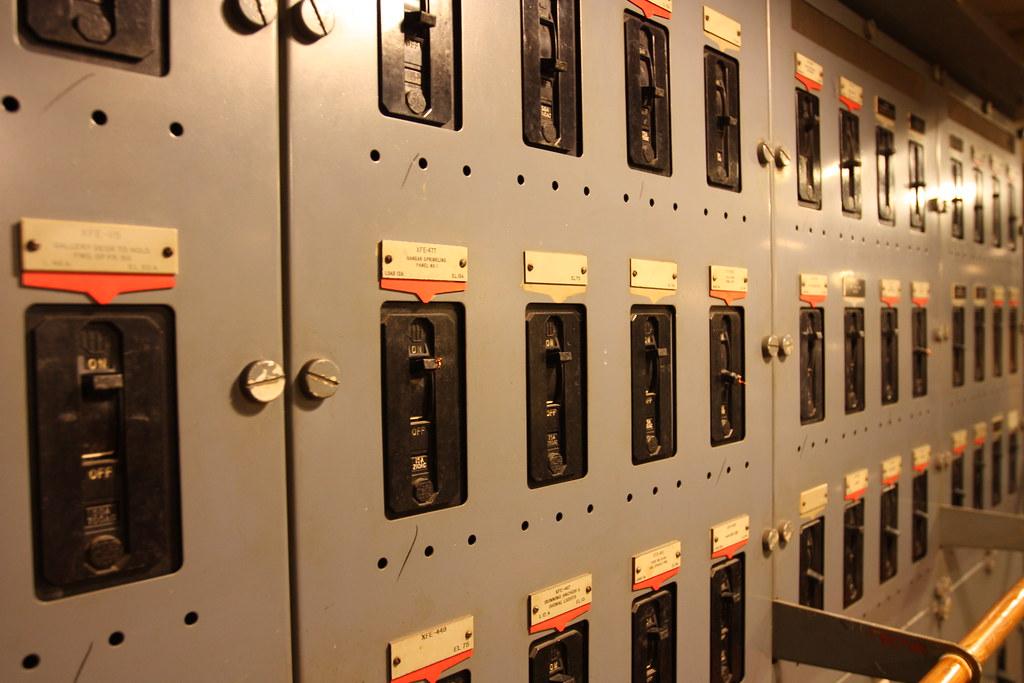 Forward Auxiliary Emergency Generator Room